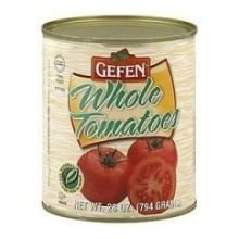 Gefen, Tomatoes, Whole, Canned, 12/28 Oz