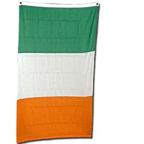 Ireland Flag Polyester 3 ft. x 5 ft.