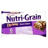 Kellogg's Nutri Grain Elevenses Raisin Bakes 6 X 45G