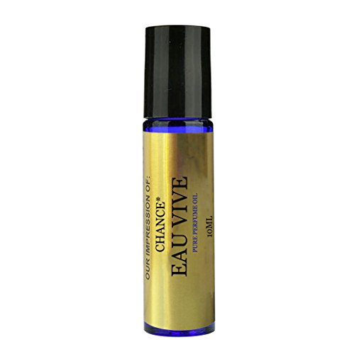 Perfume Studio Premier IMPRESSION Parfum Oil SIMILAR toCH._CHANCE_EAU_VIVE Perfume{Women} - 100% Pure Undiluted, No Alcohol Top grade Perfume Oil (VERSION/TYPE Oil; Not Original Brand) (10ML ROLL ON) (Perfume Type compare prices)