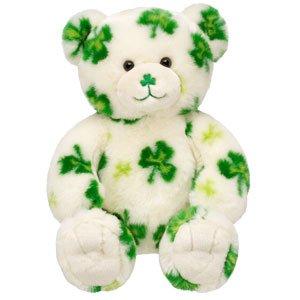 Build-A-Bear Lucky Fur You Limited Edition LE Shamrock Teddy Bear (Shamrock Bear compare prices)