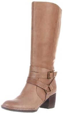Naya Women's Gazelle Knee-High Boot,Taupe,7 M US