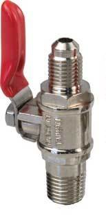 Learn To Brew Threaded Shutoff Check Valve (Co2 Regulator Shut Off Valve compare prices)