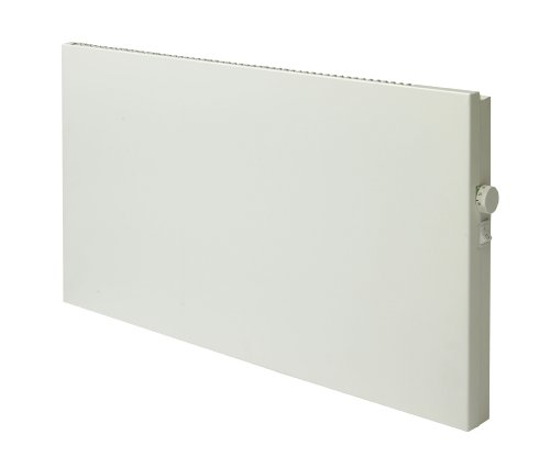 Adax 1200 Watt / 1.2Kw Slimline Electric Wall Mounted Panel Convector Heater - Electronic Thermostat 1200W White