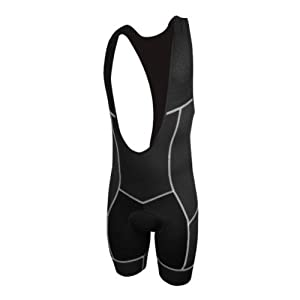 Mens De Soto 400-Mile Bib Short by De Soto