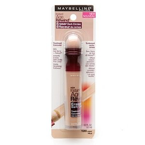 Maybelline New York Instant Age Rewind Eraser Dark Circles Treatment Concealer, Light 20, 0.2-fluid Ounce