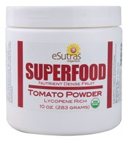 Esutras Organics Tomato Powder, Red, 10 Ounce