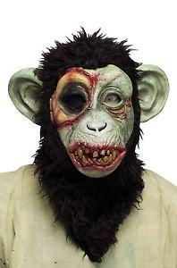 [Zombie Chimp Animal Monkey Ape Adult Mask] (Chimp Hands Costume)