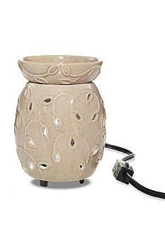 Yankee Candle Ceramic Leafy Vine Tart Warmer