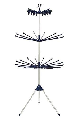 室内干し ものほしスタンドコスモス MH-3R 【タオルや小物がたっぷり干せる室内物干し】