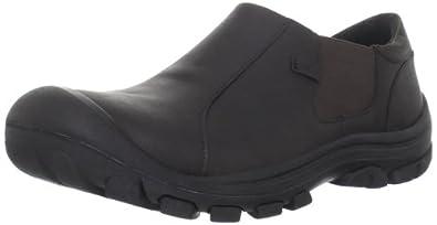 KEEN Men's Ontario Slip-on,Slate Black,7 M US