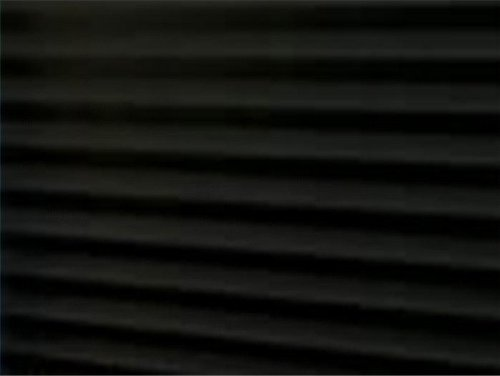 Pleated Shades temporary Redi Shade Clipped Blackout 36 is Pack of 6 - 48 is Pack of 4 Black 004