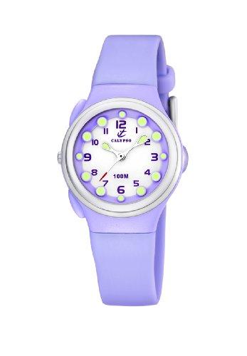 Calypso Women's K6050/3 Plastico Lilac Dial Watch
