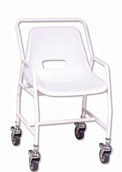 Height Adjustable Mobile Shower Chair from NRS