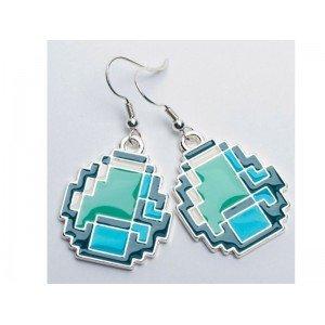 Jnx - Boucles Doreilles - Minecraft - Boucles Doreilles Diamond - 0583215026480 from J!nx