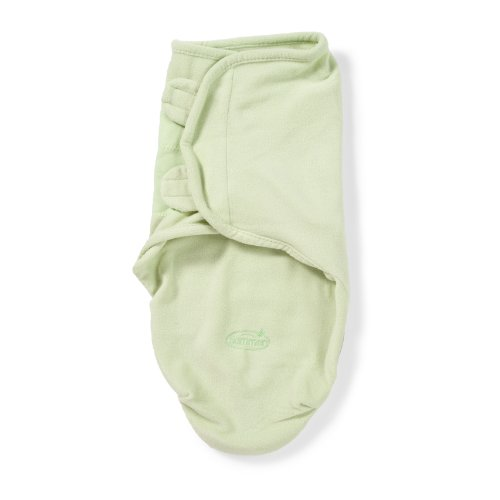 Buy Cheap Summer Infant SwaddleMe Microfleece Adjustable Infant Wrap, Sage, Large