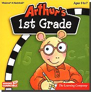 New Learning Company Arthur's 1st Grade Multiple