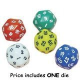 30-Sided Dice, 1 Pack, Color May Vary