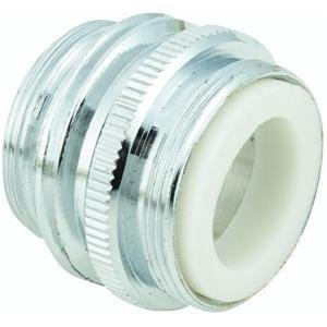 1 X Do it Dual Thread Faucet Adapter To Hose