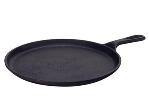 Lodge Logic L9OG3 Pre-Seasoned Round Griddle, 10.5-inch