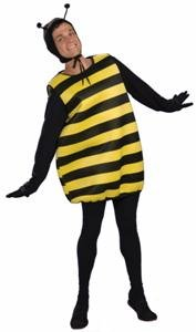 Honey Mooners Bee Funny Unisex Adult Halloween Costume Size Standard