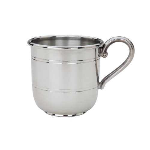 Reed & Barton Pewter Baby Cup, Cornwall, 6 Ounce
