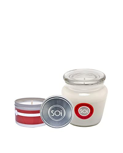 The Soi Co. Moisturizing 16-Oz. Keepsake & 8-Oz. Travel Candles, Tuscan Blood Orange