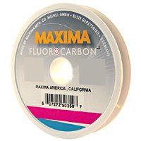 Maxima fishing line fluorocarbon leader wheel clear 5 for Maxima fishing line