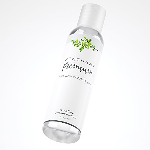 Intimate Lubricants for Sensitive Skin by Penchant Premium - Silicone Based, Discreet Label - Best Personal Sex Lube for Women and Men - Lubrication Gel Without Parabens or Glycerin 4oz