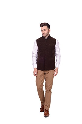 Lee Marc Jute Men's Brown Blazer(LEMC26_40)  available at amazon for Rs.850