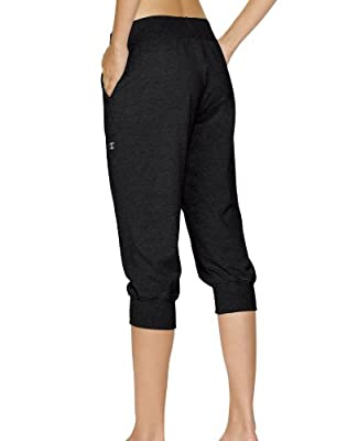 Champion Women's Jersey Banded Knee Pants