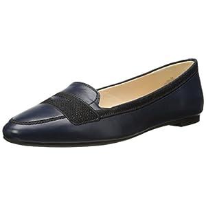 Nine West Women's Zappoli Leather Slip-on