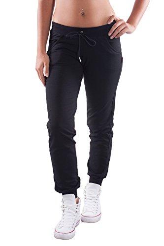carlsberg-pantaloni-in-felpa-donna-con-stampa-s-nero