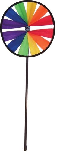 In the Breeze Single Wheel Rainbow Spinner, 8-Inch