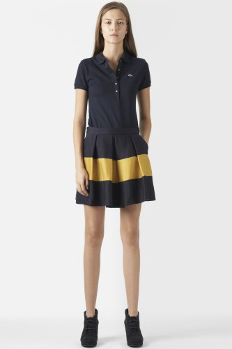 Rugby Stripe Swing Skirt