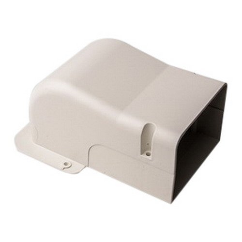"""DiversiTech 230-WC4 4"""" Wall Penetration Cover Fitting for SpeediChannel Line Set Cover"""