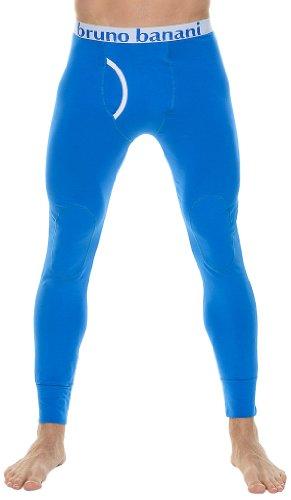 Bruno Banani Herren Lange Unterhose 2201-1297 82, Gr. 7 (XL), Blau (blau 82)