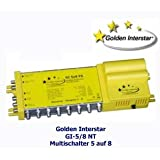 "Multischalter 5/8 - Interstar GI-58 NTvon ""Golden Interstar"""