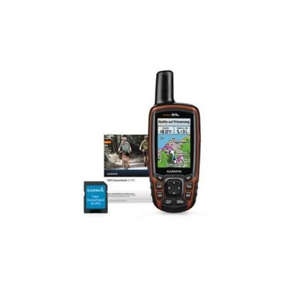 Garmin GPS Outdoor Navi Map 64S Plus Transalpin V4 Pro Micro-SD, 020-00212-04