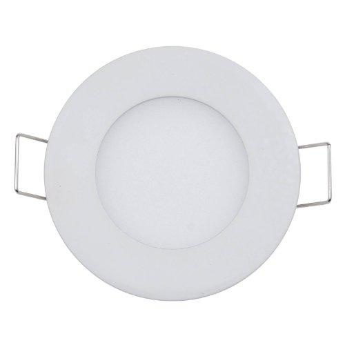 Lemonbest® 3W Led Round Panel Light , Recessed Ceiling Panel Downlight, Warm White