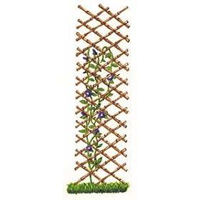 Expandable Bamboo Trellis