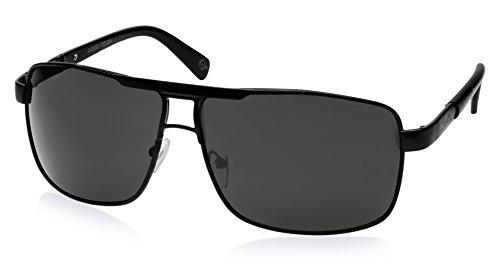 Speedo Speedo Aviator Sunglasses (Shiny Black) (SKS-5001-004)