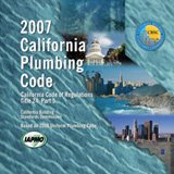 2007 California Plumbing Code (Title 24, Part 5) - Loose-leaf - B000XKP6RO