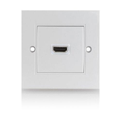 deleycon hdmi dose 1 port unterputz 3d fullhd unterst tzt neustes hdmi. Black Bedroom Furniture Sets. Home Design Ideas