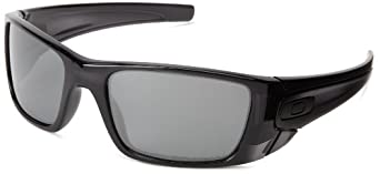 Oakley mens Fuel Cell OO9096-83 Iridium Polarized Sport Sunglasses,Matte Black Ink/Black Iridium Polarized