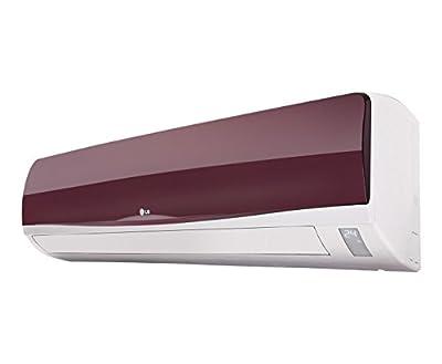 LG LSA3EW3M Non Inverter Split AC (1 Ton, 3 Star Rating, Wine Red)