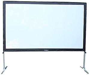 Visual Apex ProjectoScreen144HD Portable Movie Theater Projector Screen