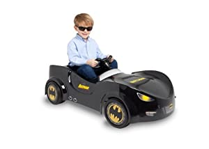 Amazon.com: Batman 6-Volt Battery-Operated Ride-on Car: Toys & Games