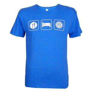Volkswagen Eat Sleep Vw Tshirt Large from vw