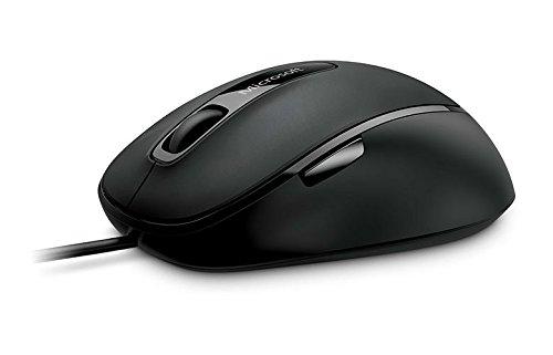 Microsoft-Comfort-Mouse-4500-optische-Maus-schnurgebunden-schwarz